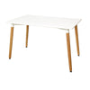 Image of Field Dining Table, White