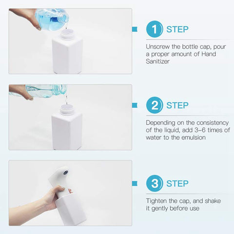 Soap Dispenser, Automatic Pressless Foaming  - Infrared Motion Sensor Liquid Hands-Free Soap Dispenser