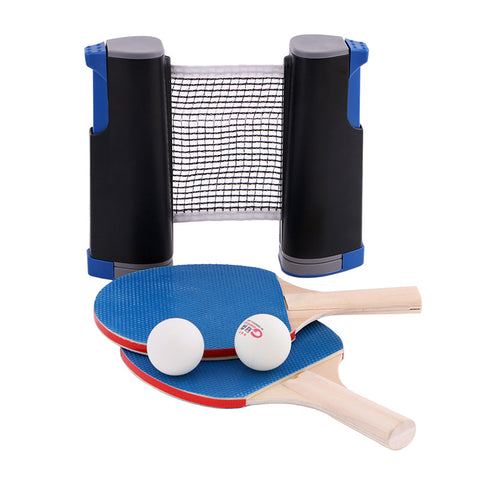 Table tennis rack set