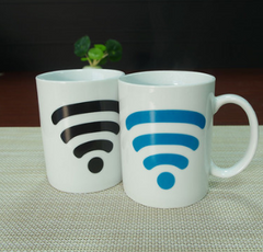 WIFI signal color change cup signal cell coffee cup