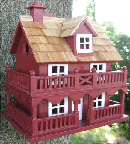 Red Wood Birdhouse
