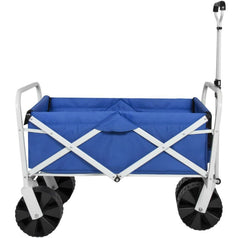 Folding Sturdy Utility Wagon Garden Cart - 36