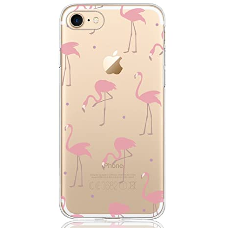 coque iphone 7 flamand rose