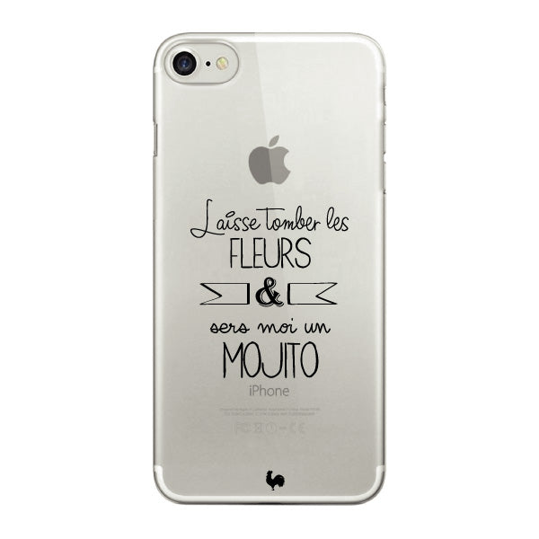 coque iphone 7 transparent dessin