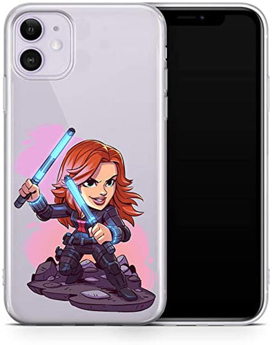 coque iphone 11 pro max black widow