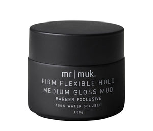 MR MUK FIRM FLEXIBLE HOLD MEDIUM GLOSS MUD
