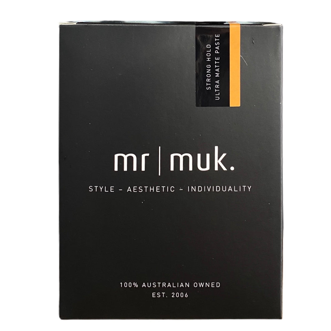 Mr Muk Strong Hold Ultra Matte Paste 100g + 50g Duo Pack