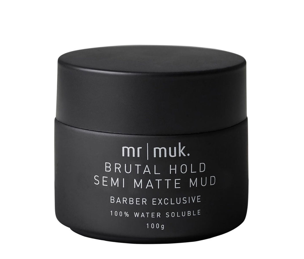 MUK | Brutal hold Semi Matte Mud 100g