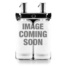 Load image into Gallery viewer, Brushed Stainless Steel Double Oval Bottle Amenity Fixture