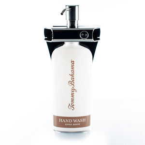 Polished Stainless Steel Single Oval Bottle Amenity Fixture