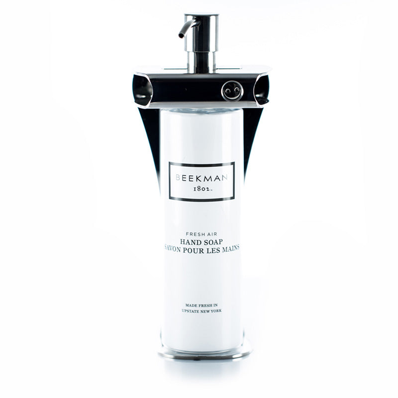 Single Amenity Fixture with 12 ounce cylinder bottle