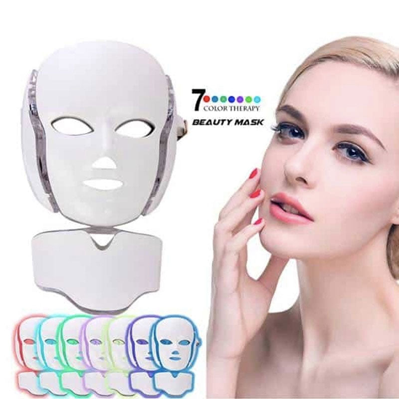 7 COLORS LED LIGHT THERAPY MASK