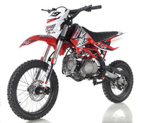 Apollo DB-X19 With HEADLIGHTS 125cc Pit / Dirt Motorcycle