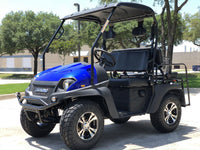Gas Golf Cart 4-seater UTV Hybrid Cazador Eagle 200 Side by Side With Custom Rims/Tires