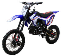 COOLSTER XM Deluxe M125 - 125cc Dirt Bike-17-inch front tire, manual transmission, 35-inch seat height-[Not California Legal]