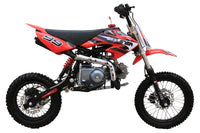 Coolster QG214S Deluxe 125cc Pit/Dirt Bike-14-inch front tire, Semi-automatic trans,29-inch seat height-[Not California Legal]