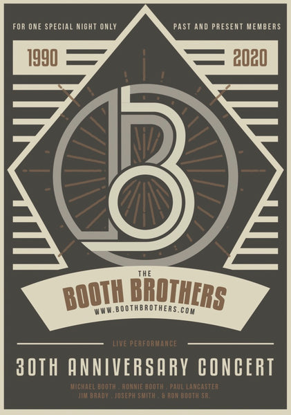 Booth Brothers / 30th Anniversary DVD