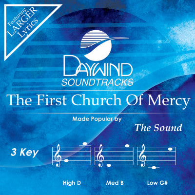 First Church of Mercy by The Sound CD