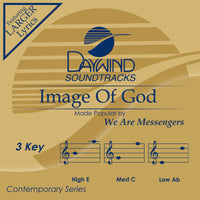 Image of God by We Are Messengers CD