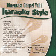 Karaoke Style: Bluegrass Gospel Vol. 1