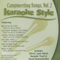 Karaoke Style: Campmeeting Songs, Vol. 2
