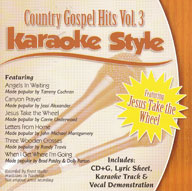 Karaoke Style: Country Gospel Hits, Vol. 3