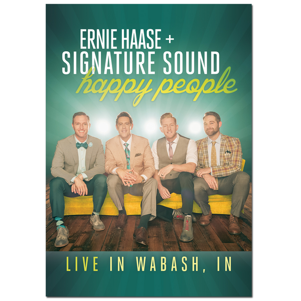 ERNIE HAASE & SIGNATURE SOUND / HAPPY PEOPLE LIVE DVD