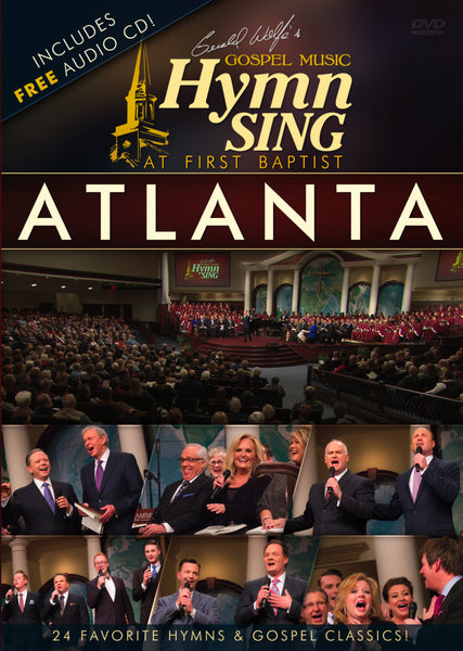 Gerald Wolfe's Gospel Music Hymn Sing At First Baptist Atlanta DVD / CD Combo