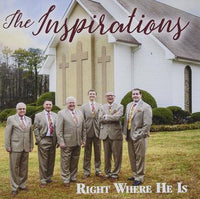 INSPIRATIONS / RIGHT WHERE HE IS CD