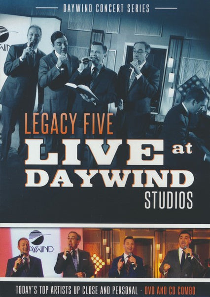 LEGACY FIVE / LIVE AT DAYWIND STUDIOS DVD & CD SET