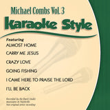 Karaoke Style: Michael Combs Vol. 3 CD