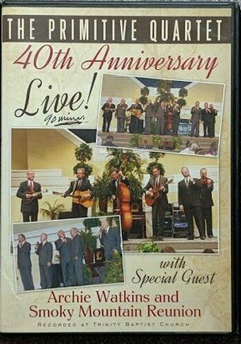 PRIMITIVE QUARTET / 40TH ANNIVERSARY LIVE DVD