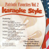 Karaoke Style: Patriotic Favorites, Vol. 2
