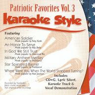 Karaoke Style: Patriotic Favorites, Vol. 3