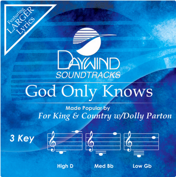 God Only Knows (For King and Country with Dolly Parton) CD
