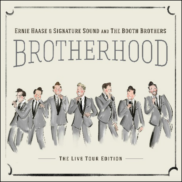 Ernie Haase & Signature Sound & The Booth Brothers / Brotherhood Live! CD