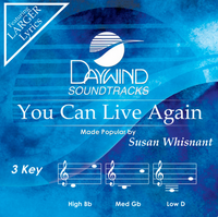 You Can Live Again (Susan Whisnant) CD