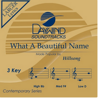 What A Beautiful Name (Hillsong) CD