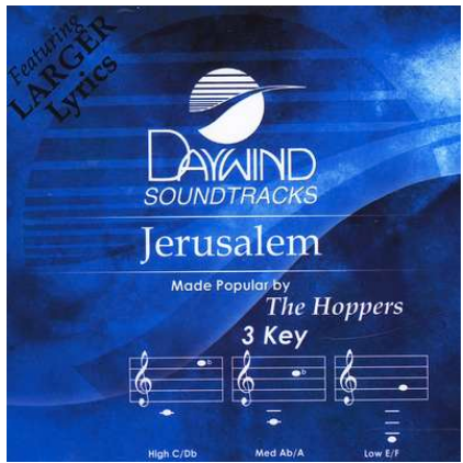 Jerusalem (The Hoppers) CD