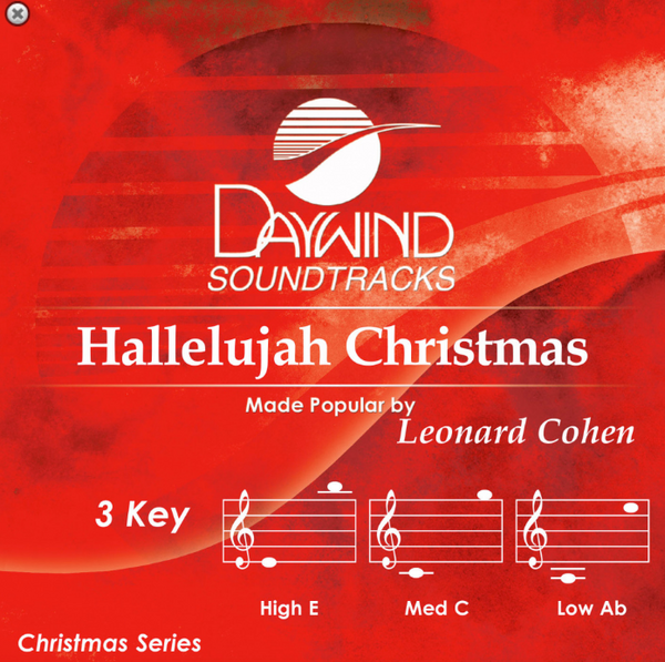 Hallelujah Christmas by Leonard Cohen CD