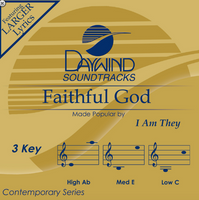 Faithful God (I AM THEY) CD