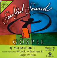 9 Makes Us 1 (Wardlaw Brothers and Legacy Five) CD