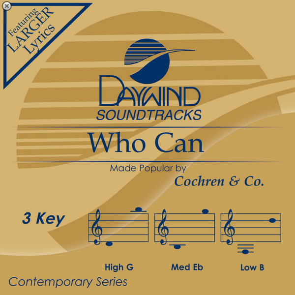 Who Can (Cochren & Co.) CD