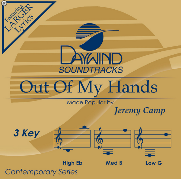Out of My Hands (Jeremy Camp) CD