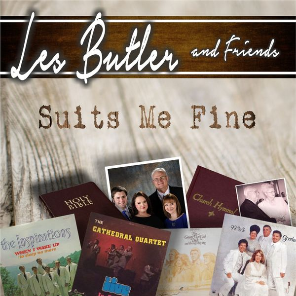 LES BUTLER AND FRIENDS / SUITS ME FINE CD