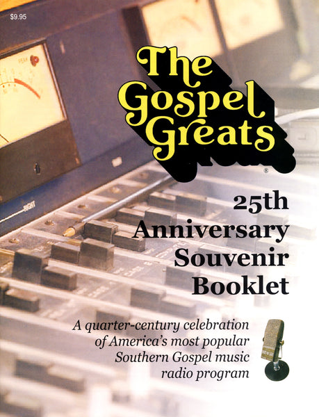 THE GOSPEL GREATS 25TH ANNIVERSARY SOUVENIR BOOKLET