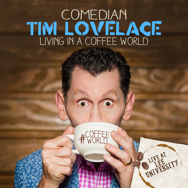 TIM LOVELACE / LIVING IN A COFFEE WORLD CD