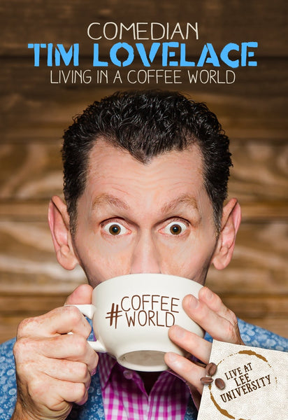TIM LOVELACE / LIVING IN A COFFEE WORLD DVD