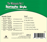 Karaoke Style: The Whisnants Vol. 2 CD