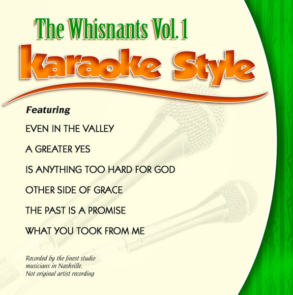 Karaoke Style: Whisnants Vol. 1